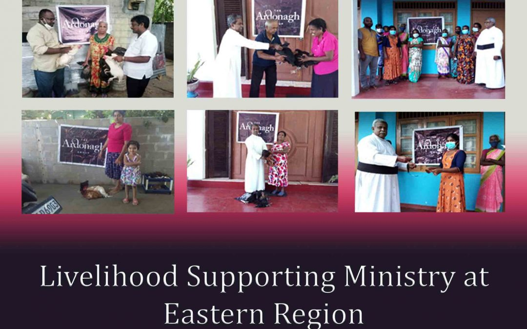 Livelihood Supporting Ministry at Eastern Region